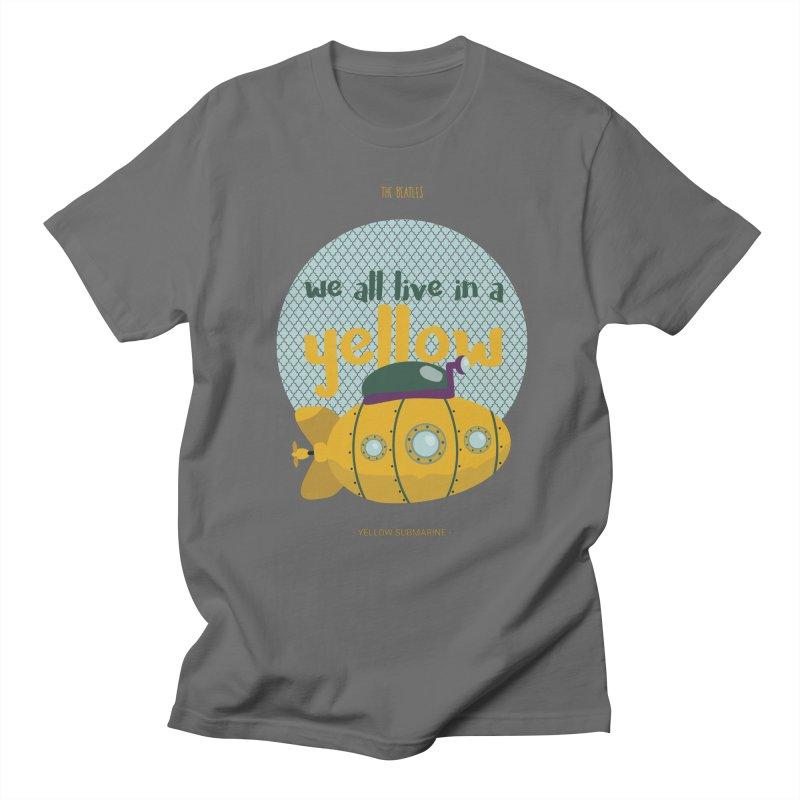 Yellow Submarine Women's T-Shirt by BrocoliArtprint