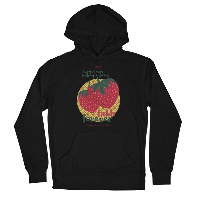 Strawberry Fields Women's Pullover Hoody by BrocoliArtprint