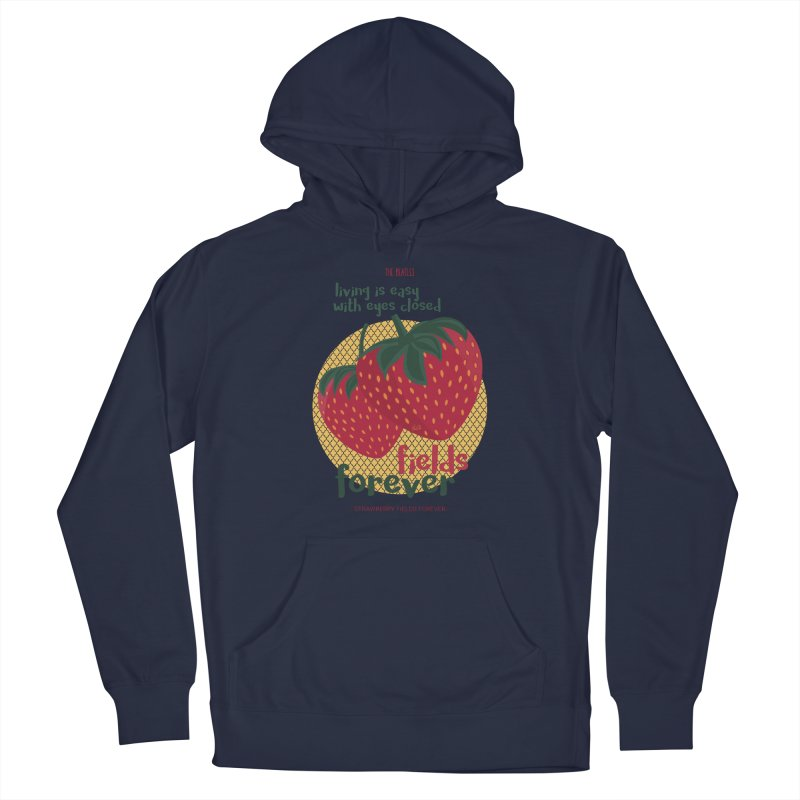 Strawberry Fields Men's Pullover Hoody by BrocoliArtprint