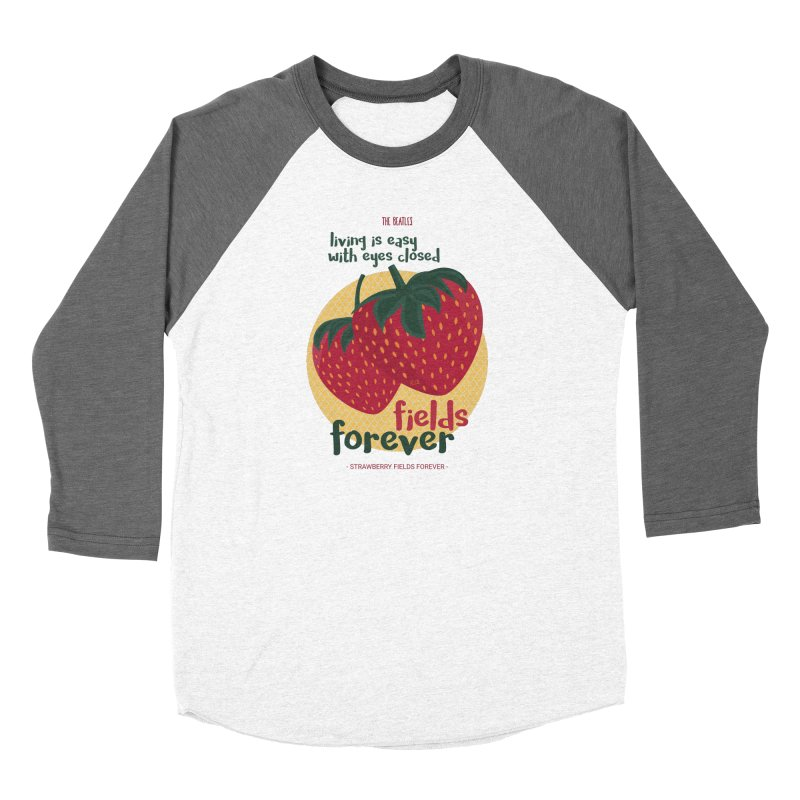 Strawberry Fields Women's Longsleeve T-Shirt by BrocoliArtprint