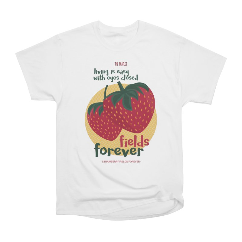 Strawberry Fields Women's T-Shirt by BrocoliArtprint