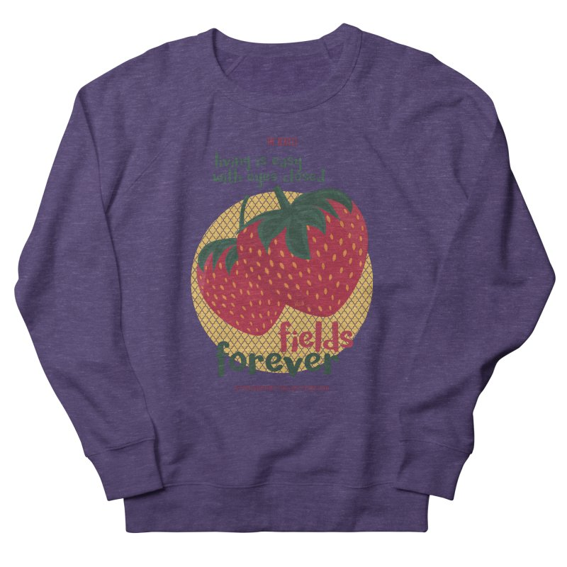 Strawberry Fields Women's Sweatshirt by BrocoliArtprint