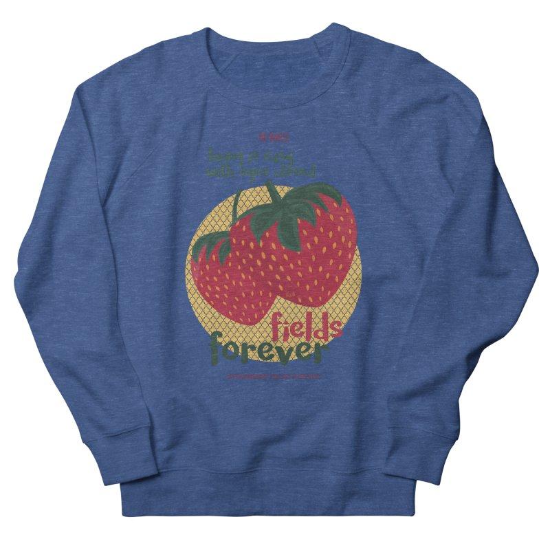 Strawberry Fields Men's Sweatshirt by BrocoliArtprint