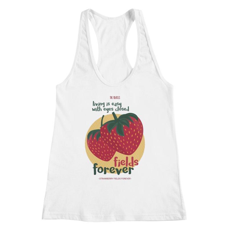 Strawberry Fields Women's Tank by BrocoliArtprint