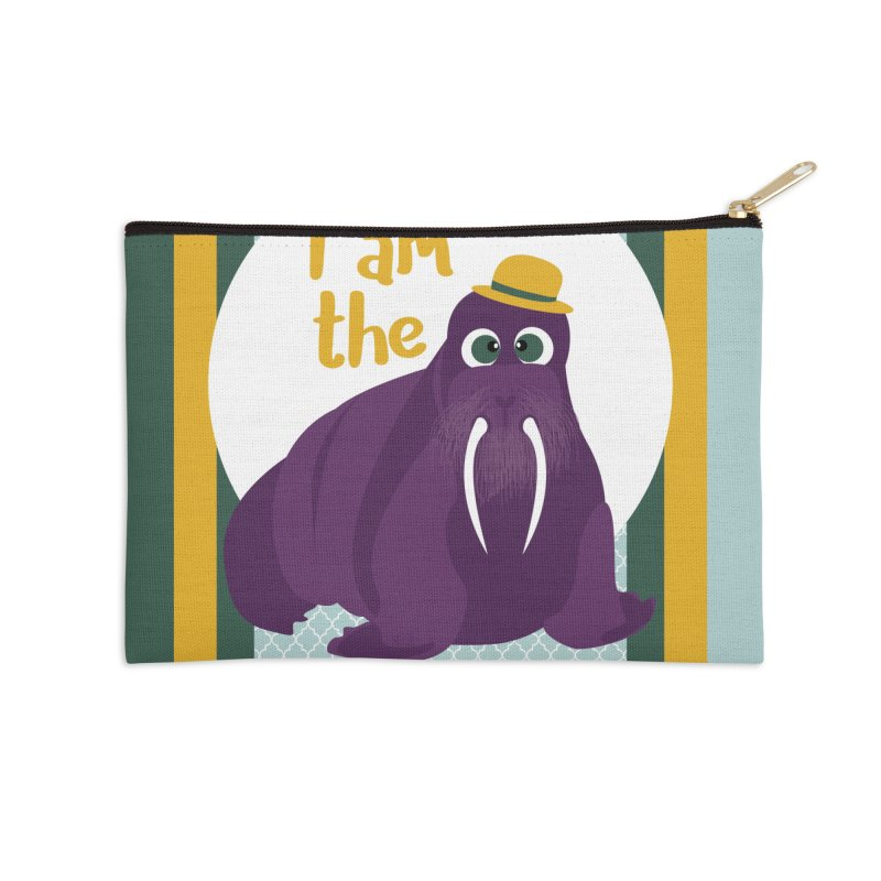 I am the Walrus Accessories Zip Pouch by BrocoliArtprint