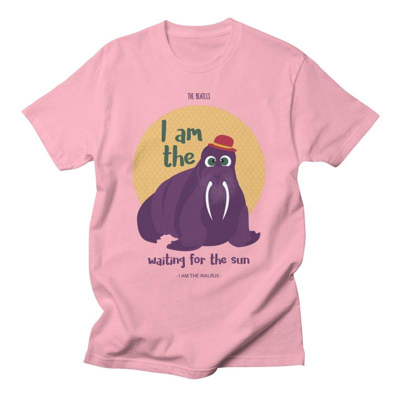 I am the Walrus Men's T-Shirt by BrocoliArtprint