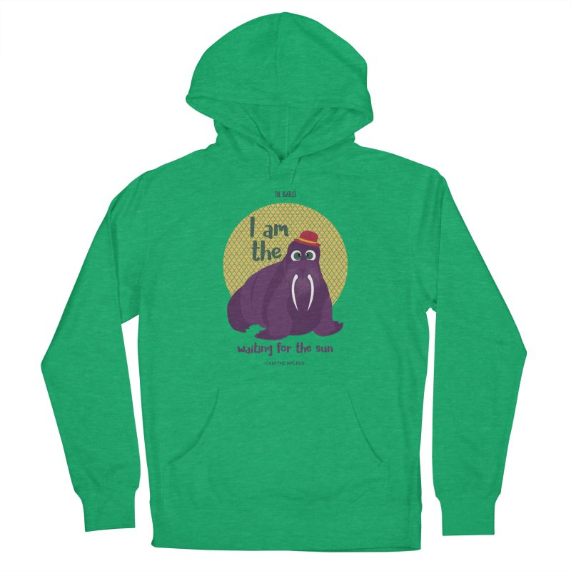 I am the Walrus Men's Pullover Hoody by BrocoliArtprint