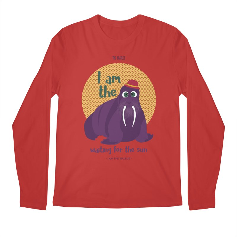 I am the Walrus Men's Longsleeve T-Shirt by BrocoliArtprint