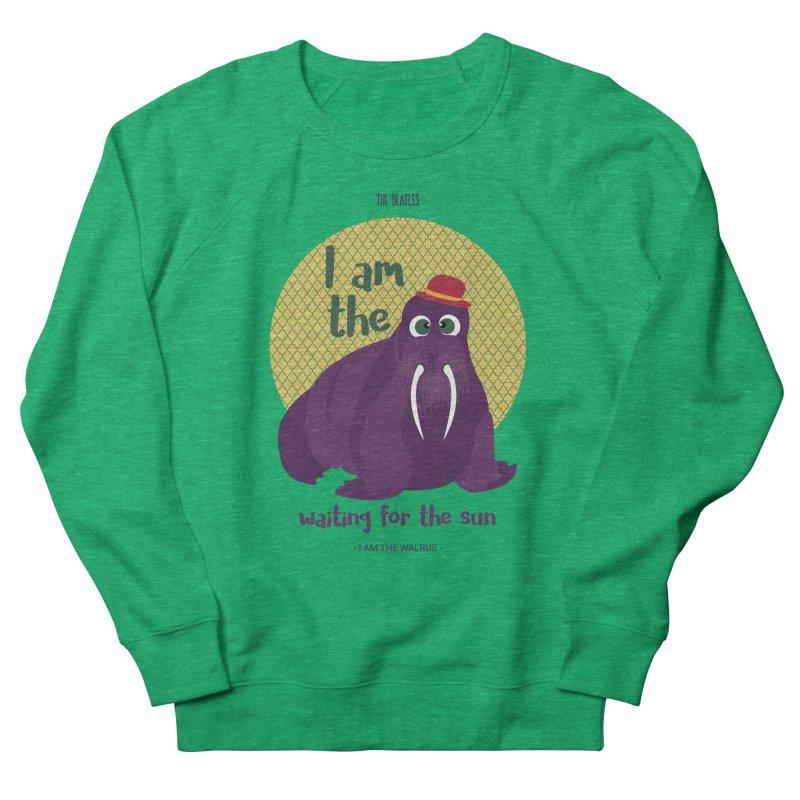 I am the Walrus Men's Sweatshirt by BrocoliArtprint
