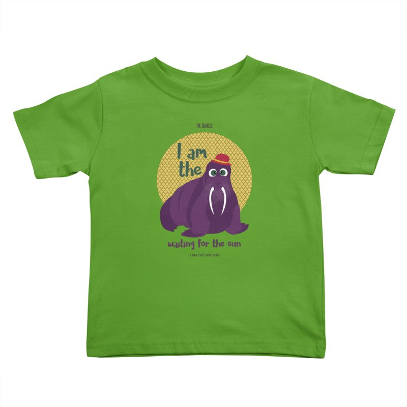 I am the Walrus Kids Toddler T-Shirt by BrocoliArtprint