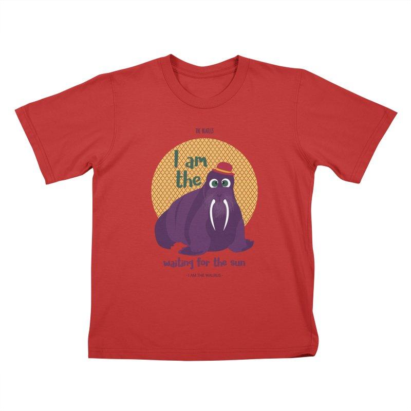 I am the Walrus Kids T-Shirt by BrocoliArtprint