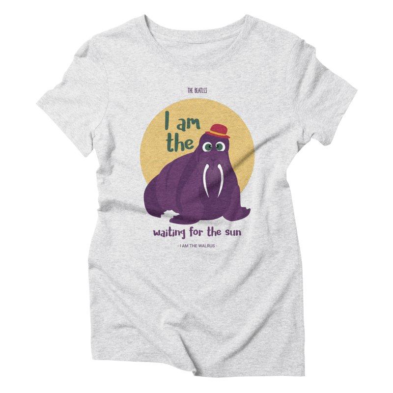 I am the Walrus Women's T-Shirt by BrocoliArtprint