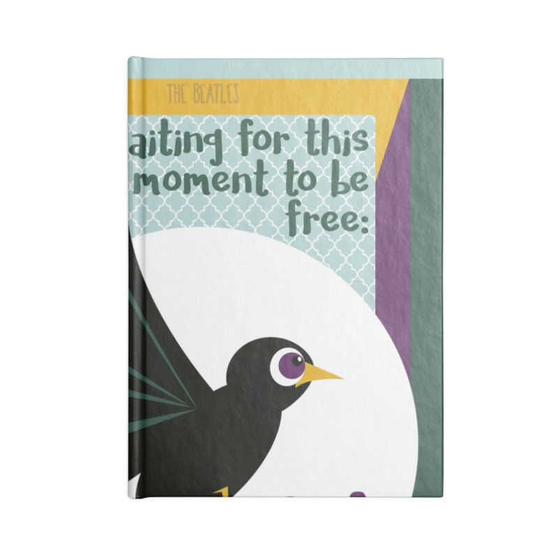 BlackBird Accessories Notebook by BrocoliArtprint