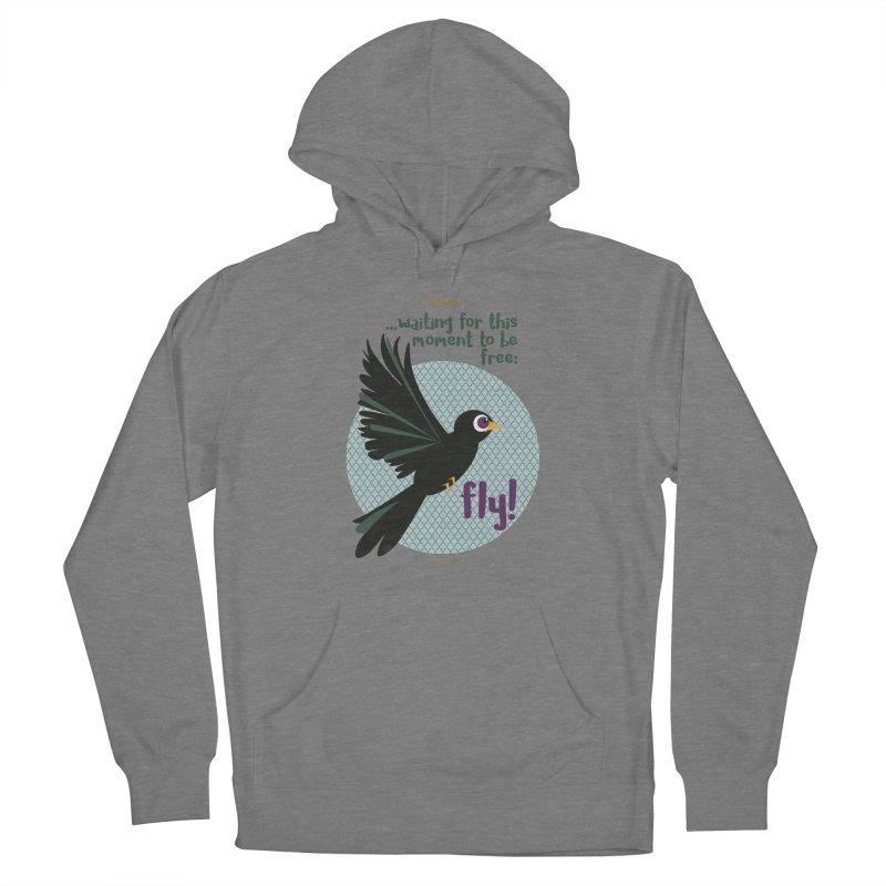 BlackBird Women's Pullover Hoody by BrocoliArtprint