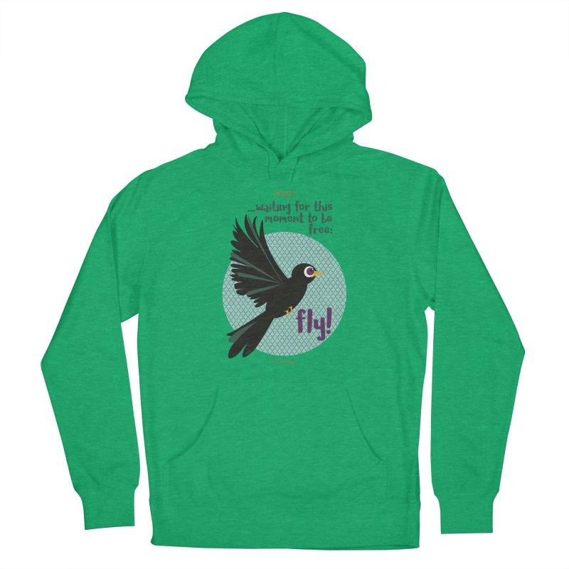 BlackBird Men's Pullover Hoody by BrocoliArtprint
