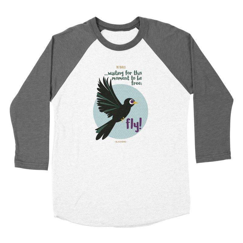 BlackBird Women's Longsleeve T-Shirt by BrocoliArtprint