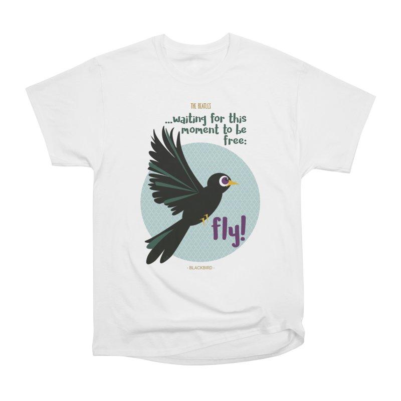 BlackBird Women's T-Shirt by BrocoliArtprint