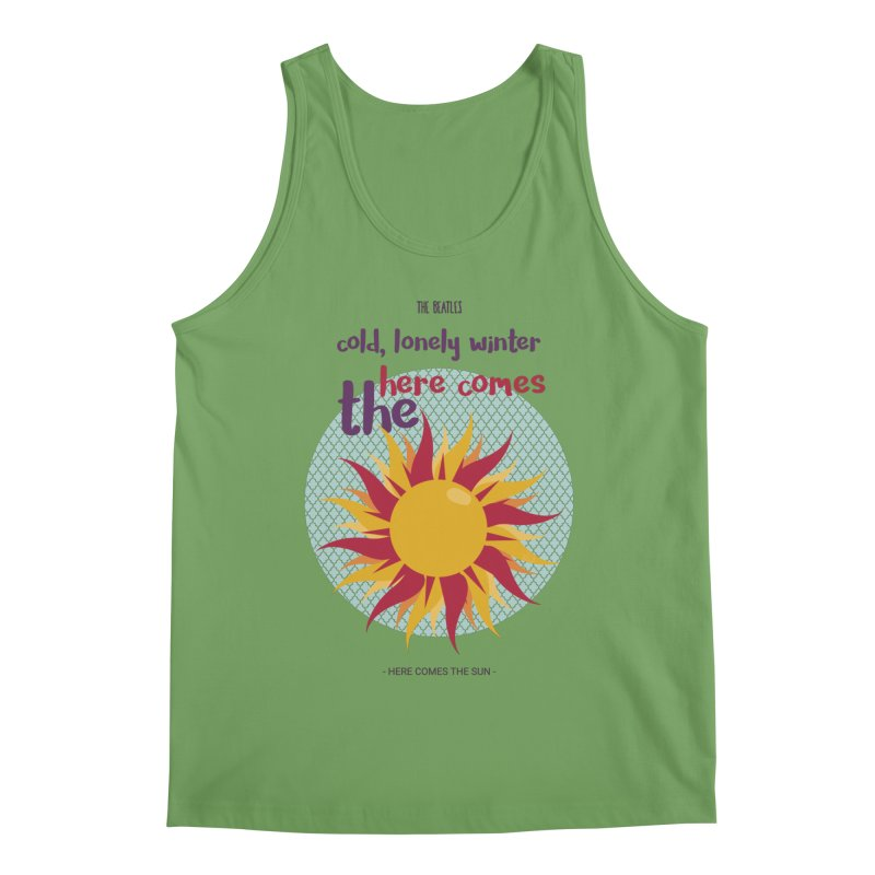 Here Comes The Sun Men's Tank by BrocoliArtprint