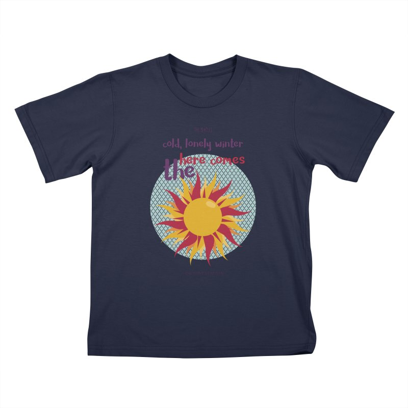 Here Comes The Sun Kids T-Shirt by BrocoliArtprint
