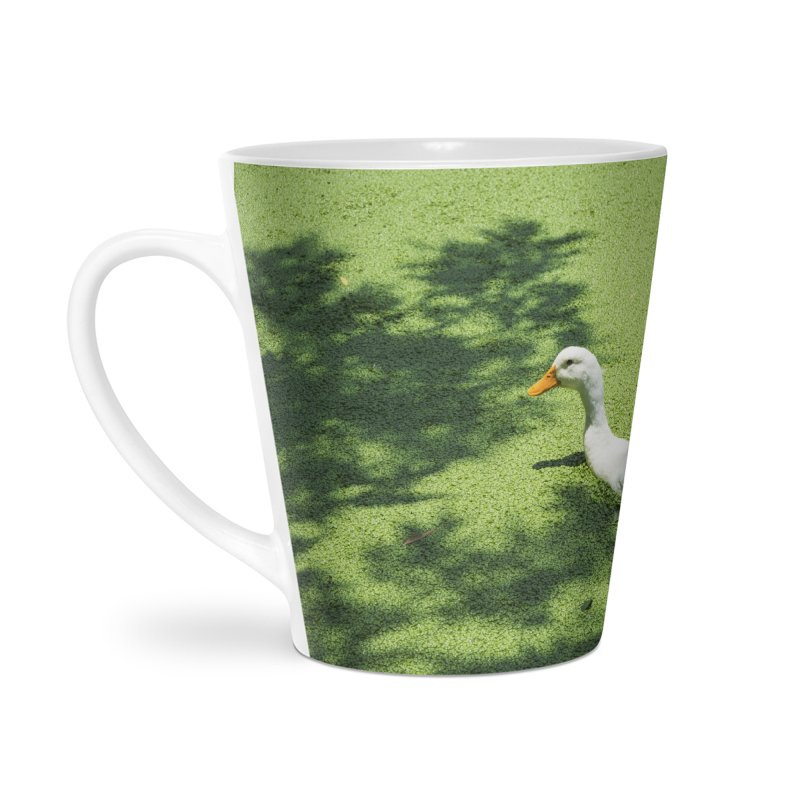 Duck over green peas Accessories Mug by BrocoliArtprint