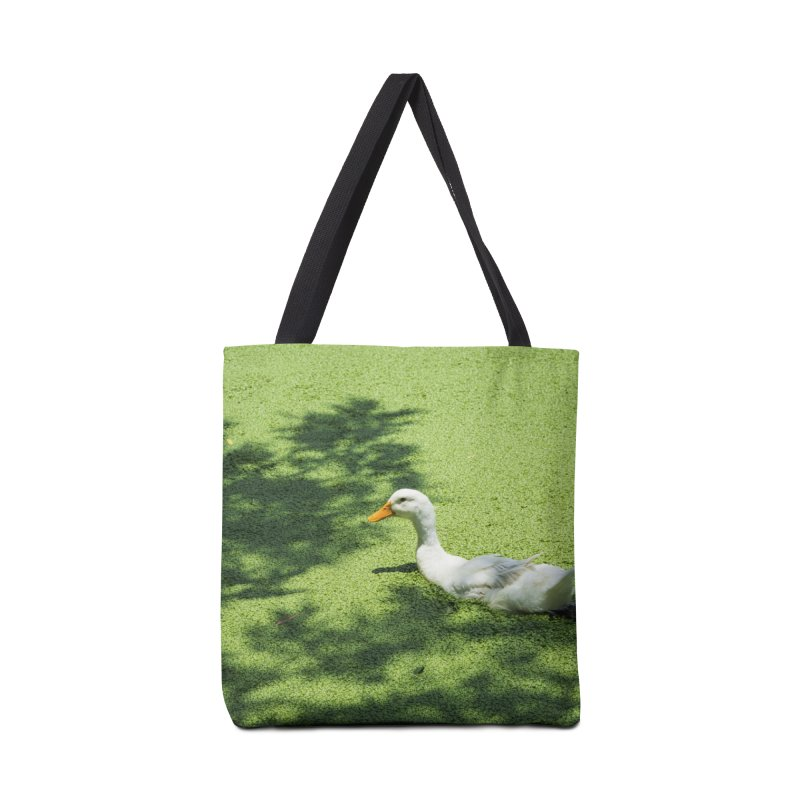 Duck over green peas Accessories Bag by BrocoliArtprint