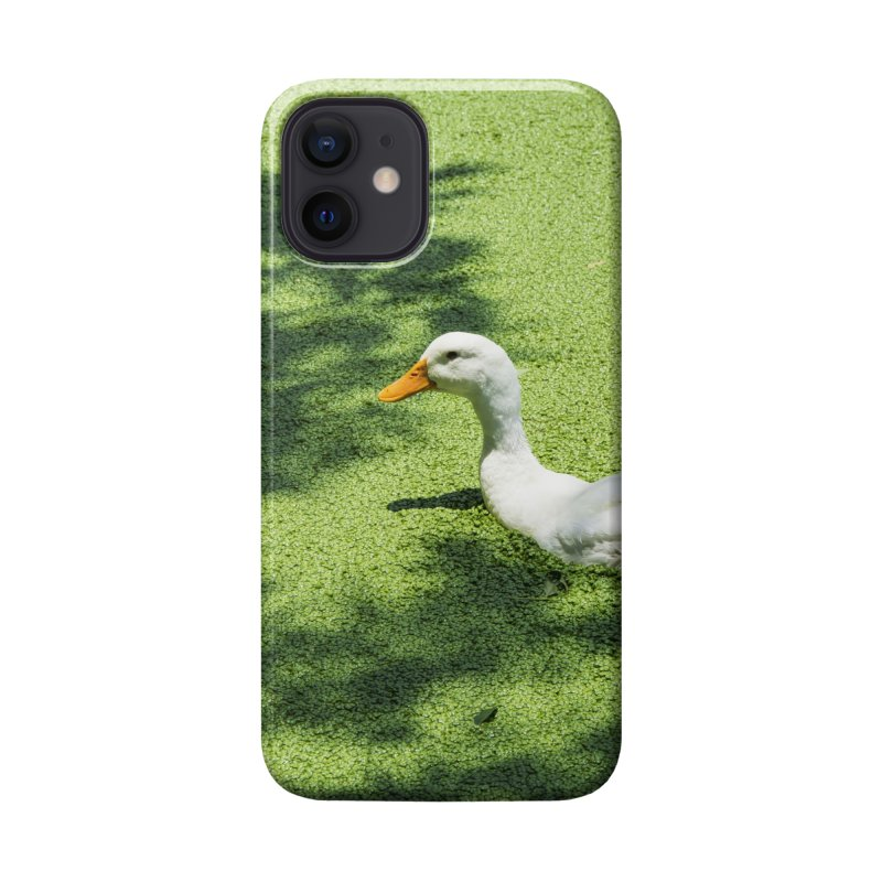 Duck over green peas Accessories Phone Case by BrocoliArtprint