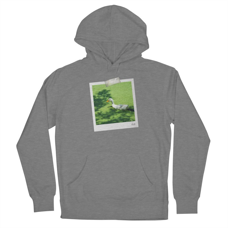 Duck over green peas Women's Pullover Hoody by BrocoliArtprint