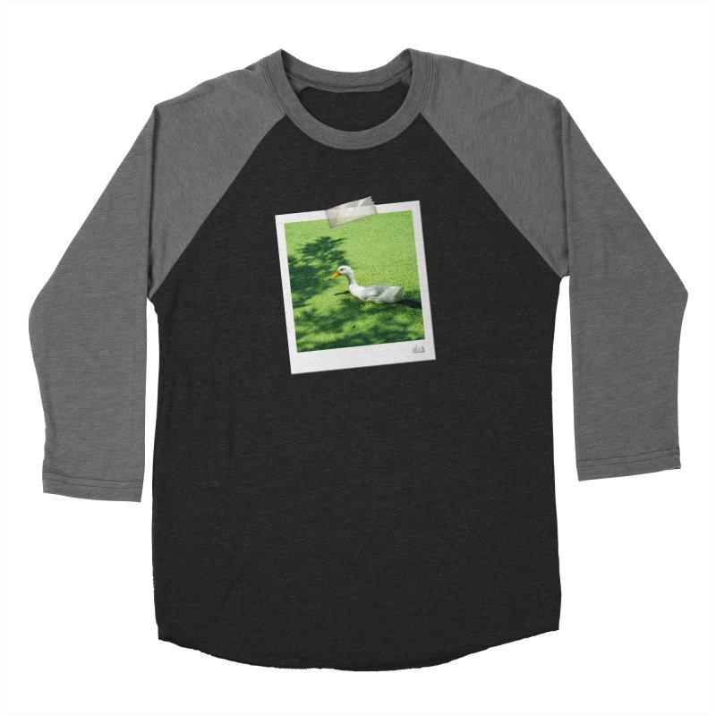Duck over green peas Men's Longsleeve T-Shirt by BrocoliArtprint