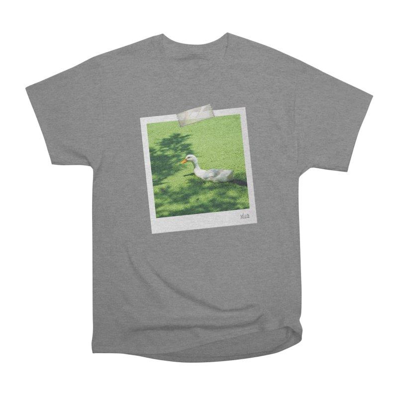 Duck over green peas Women's T-Shirt by BrocoliArtprint