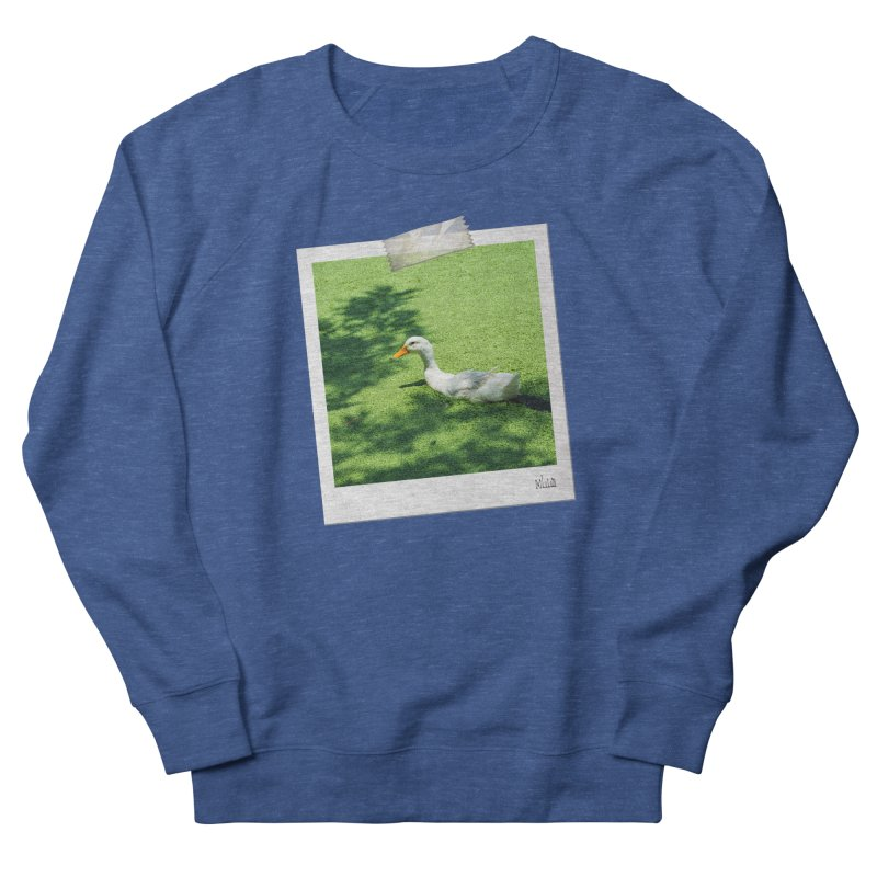 Duck over green peas Men's Sweatshirt by BrocoliArtprint