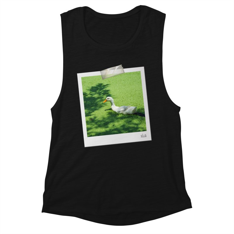 Duck over green peas Women's Tank by BrocoliArtprint