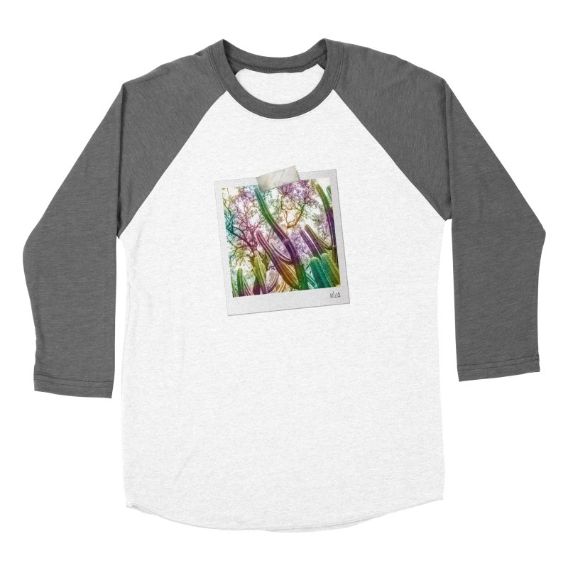 Rainbow Cactus Men's Longsleeve T-Shirt by BrocoliArtprint