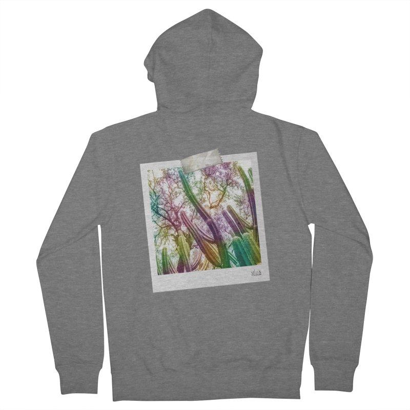Rainbow Cactus Women's Zip-Up Hoody by BrocoliArtprint