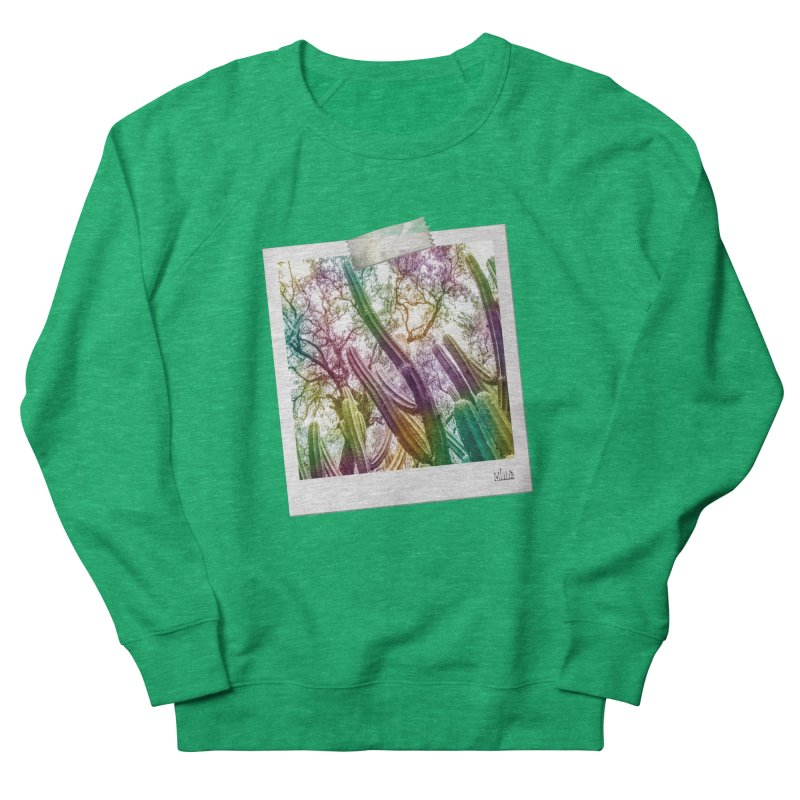 Rainbow Cactus Women's Sweatshirt by BrocoliArtprint