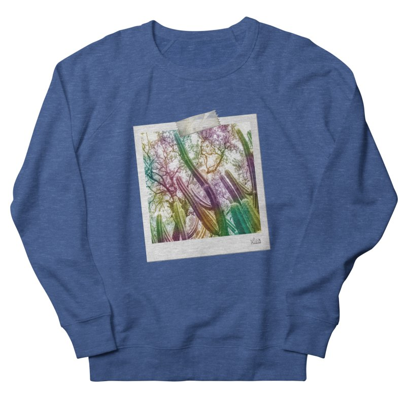 Rainbow Cactus Men's Sweatshirt by BrocoliArtprint