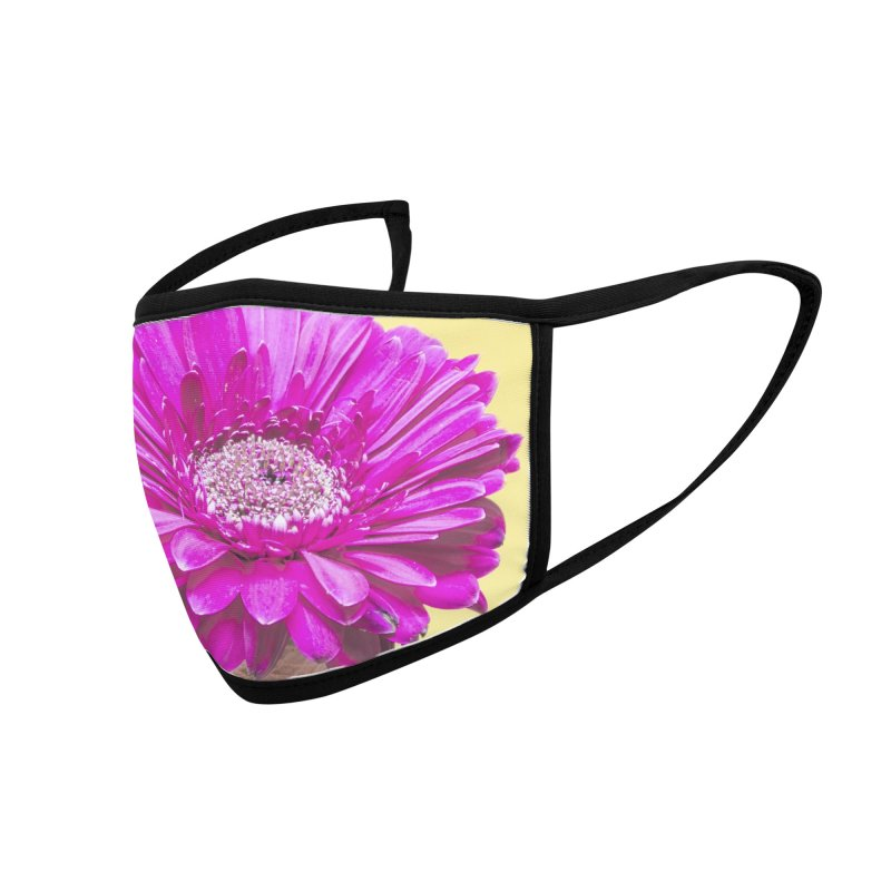 Flower Ice Cream Cone Accessories Face Mask by BrocoliArtprint