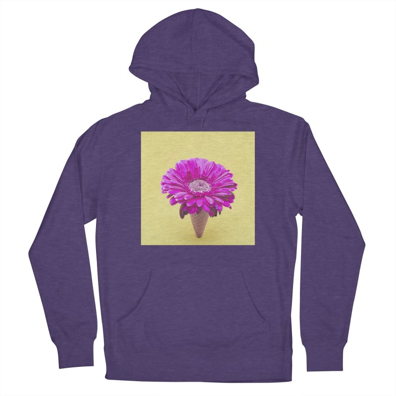 Flower Ice Cream Cone Women's Pullover Hoody by BrocoliArtprint