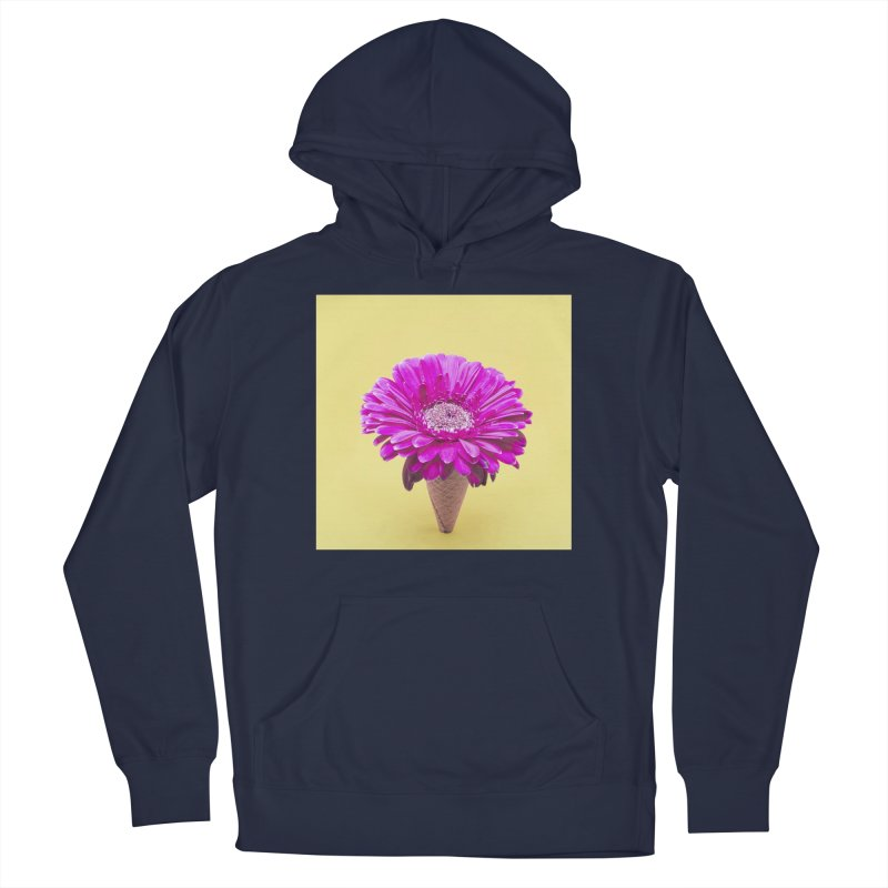 Flower Ice Cream Cone Men's Pullover Hoody by BrocoliArtprint