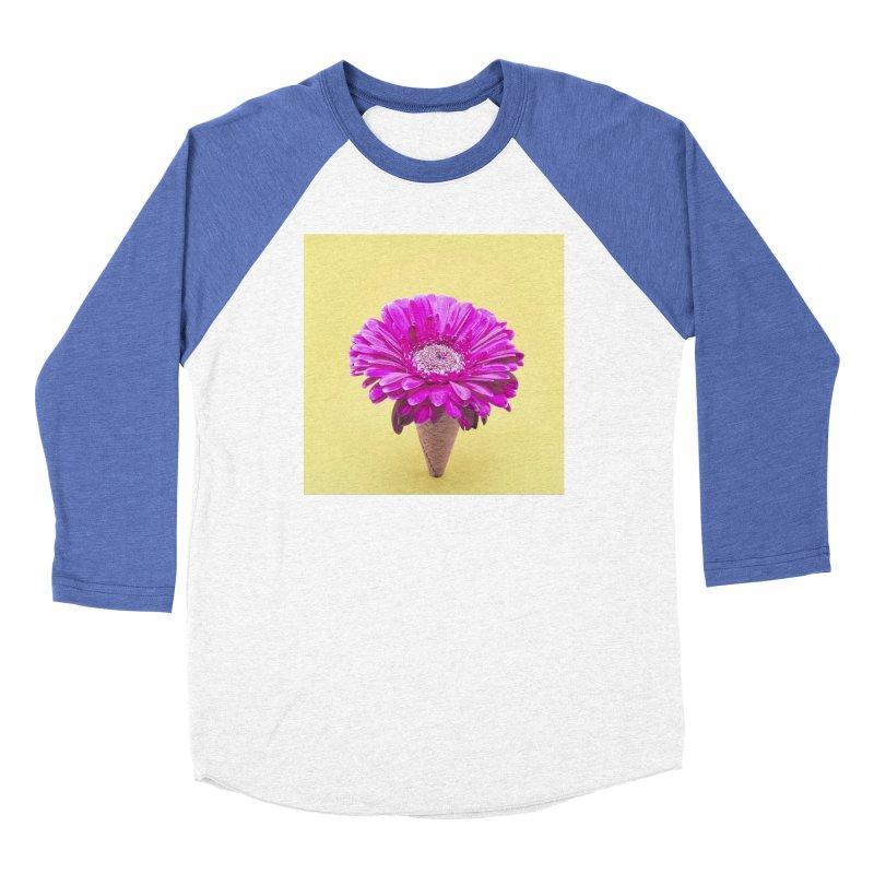 Flower Ice Cream Cone Women's Longsleeve T-Shirt by BrocoliArtprint