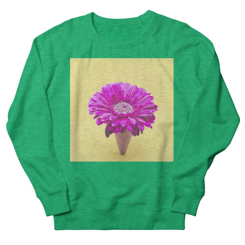 Flower Ice Cream Cone Women's Sweatshirt by BrocoliArtprint