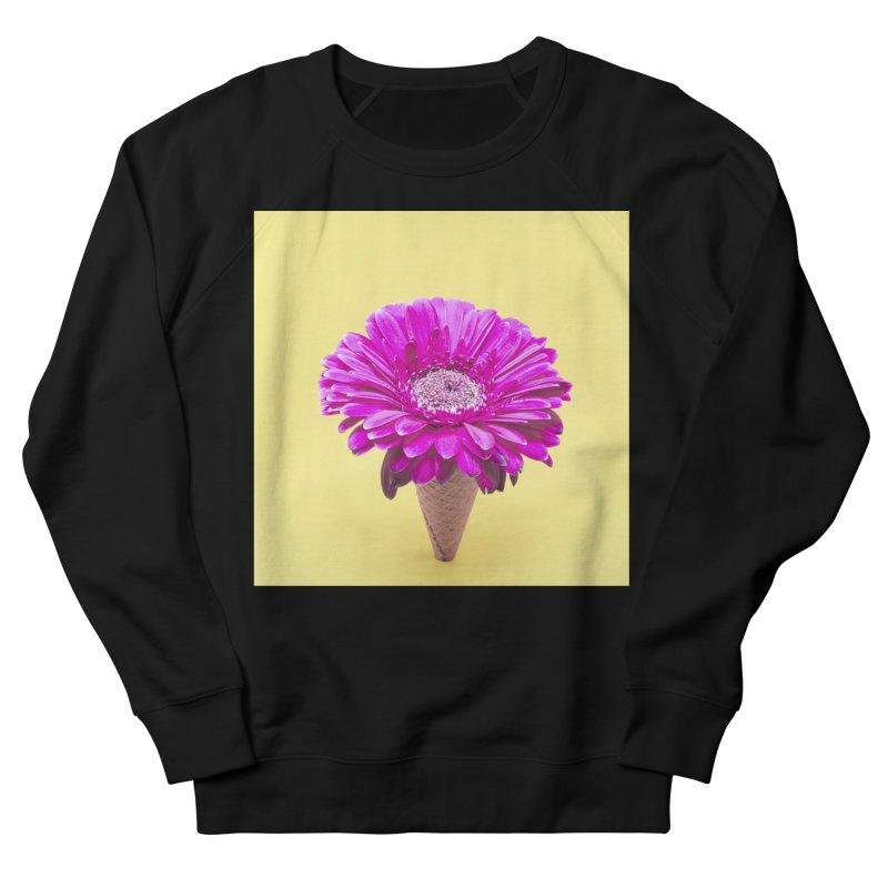 Flower Ice Cream Cone Women's Sweatshirt by BrocoliArtprint