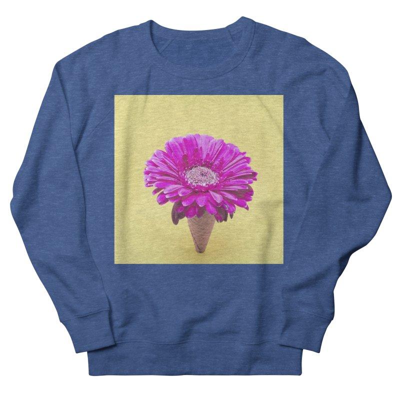 Flower Ice Cream Cone Men's Sweatshirt by BrocoliArtprint
