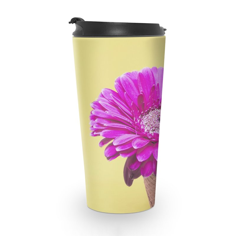 Flower Ice Cream Cone Accessories Mug by BrocoliArtprint