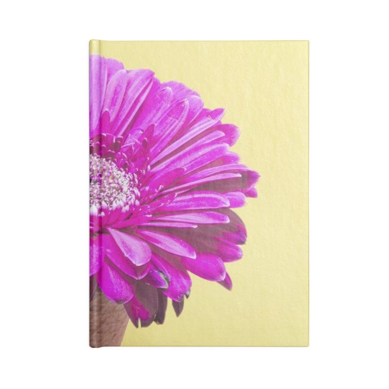 Flower Ice Cream Cone Accessories Notebook by BrocoliArtprint
