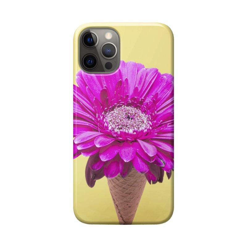Flower Ice Cream Cone Accessories Phone Case by BrocoliArtprint