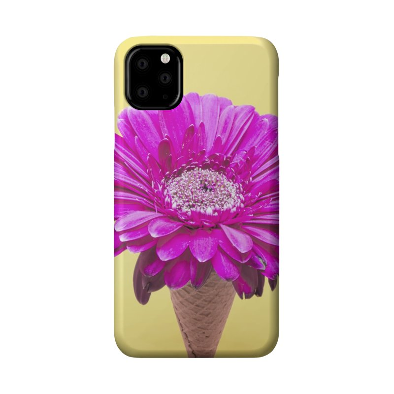 Flower Ice Cream Cone Accessories Phone Case by BrocoliArtprint