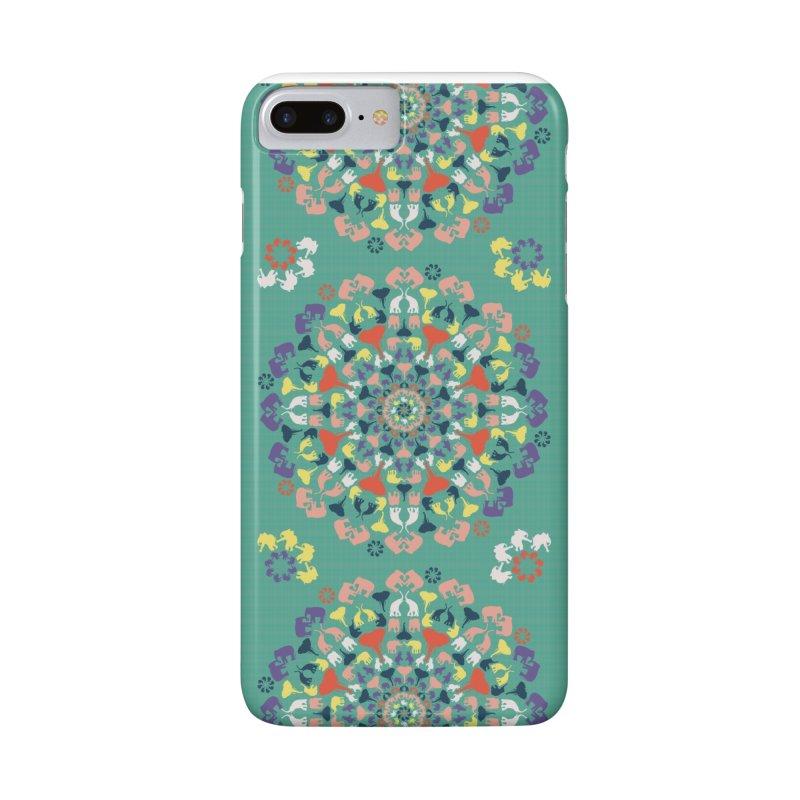 Mandala of Elephants 02. Accessories Phone Case by BrocoliArtprint