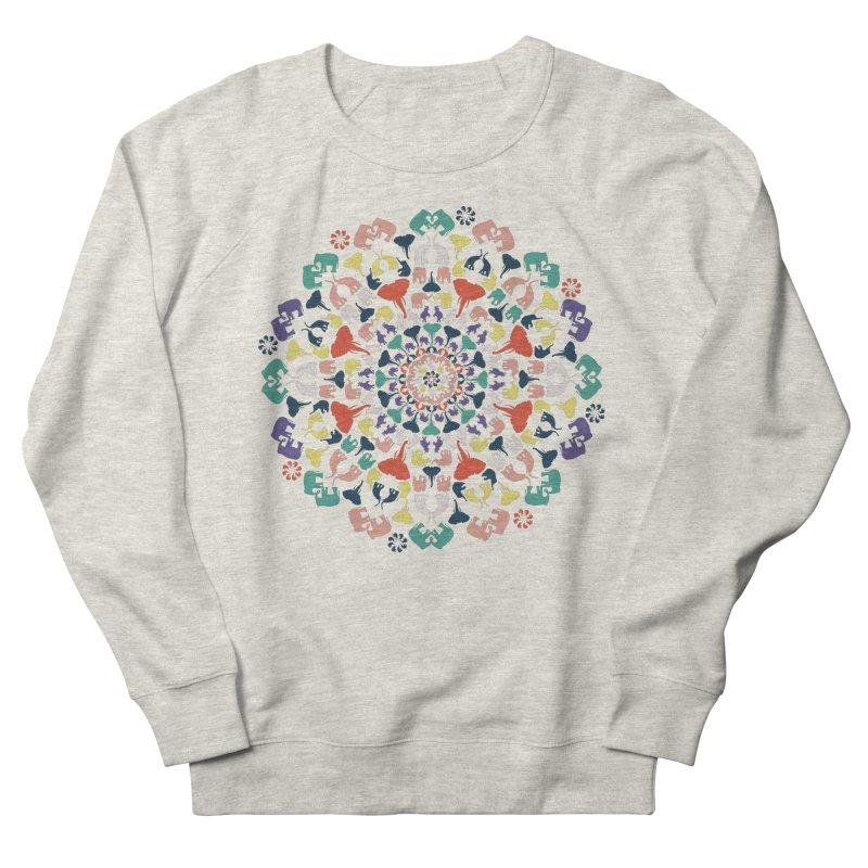 Mandala of Elephants 02. Women's Sweatshirt by BrocoliArtprint