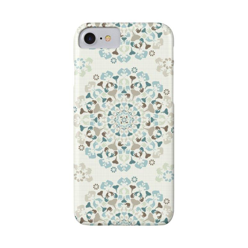 Mandala of Elephants 01. Accessories Phone Case by BrocoliArtprint