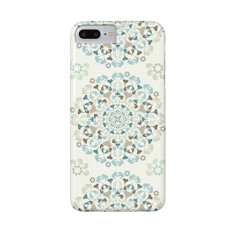 Mandala of Elephants 01. Accessories Phone Case by BrocoliArtprint